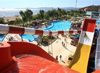 Gümüldür Aquapark Kaydırak Hill Slide Yamaç