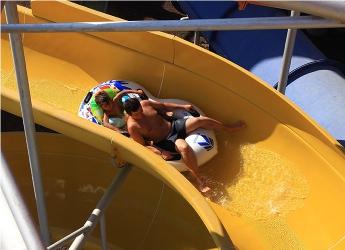Gümüldür Aquapark Kaydırak Rafting Slide